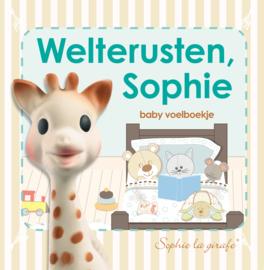 Sophie de Giraf Baby voelboekje - Weltrusten Sophie