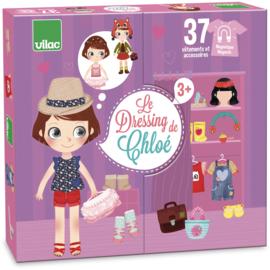Vilac - Chloe's kleerkast en aankleedpop