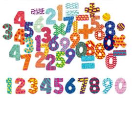 Vilac - cijfer en letter magneten