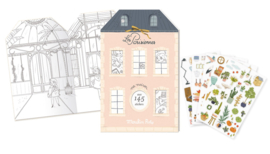 Moulin Roty  - Stickerboek Les Parisiennes  - 20 pagina's
