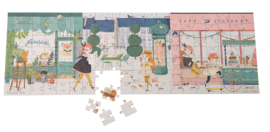 Moulin Roty - Puzzel in de straat - Les Parisiennes