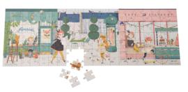 Moulin Roty - Puzzel in de straat - Les Parisiennes