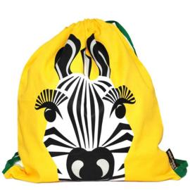 Coq en Pâte - Gymtas geel - Zebra