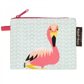 Coq en Pate - Portemonnee Lichtblauw - Flamingo