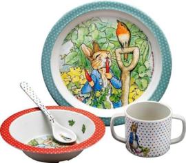Petit Jour - Peter Rabbit Bestekset