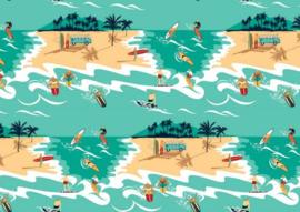 Change Ma Couche - Romper - Surfeur