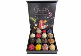 Klein - Luxe cadeaubox handgemaakte Chocoladna truffels.
