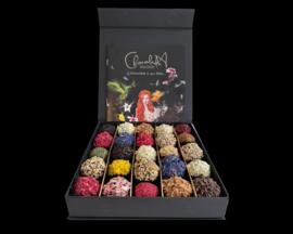 Luxus-Geschenkbox (25 Schokoladentrüffel)