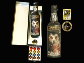 'Diamonds are a man's best friend'- Luxe cadeaudoos met lade - Chocolade Diamanten(39) & Magnum Inselbier