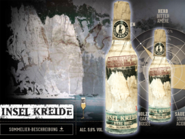 'Insel Kreide': gebrouwen champagne (33cl of 75cl)