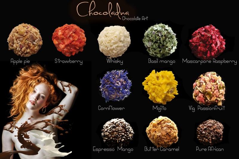 Large - Luxe assortiment met een mix van ambachtelijke chocolade truffels en pralines (circa 36 stuks)
