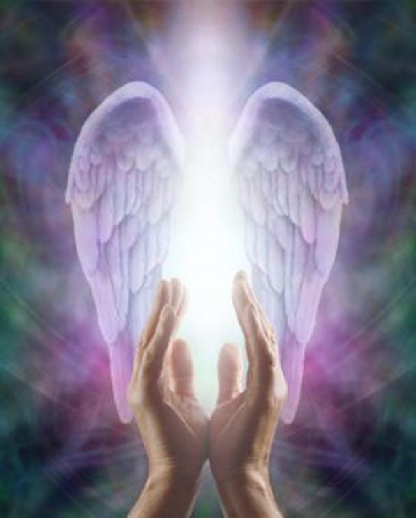 Engelen bol van licht