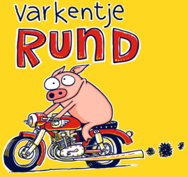 Rund op motor XL kindermaat 176
