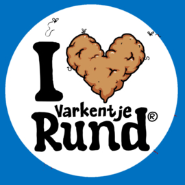 I Love Rund M Kindermaat 134/140 Blauw