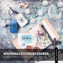 #journalyourdecember workshop