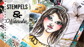 Stempels en Watercolor