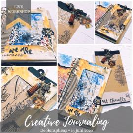 Creative Journaling bij De Scrapheap