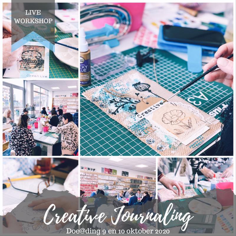 Creative Journaling bij Doe@ding