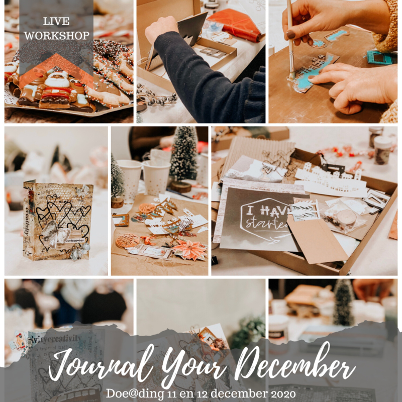 Journal Your December bij Doe@ding