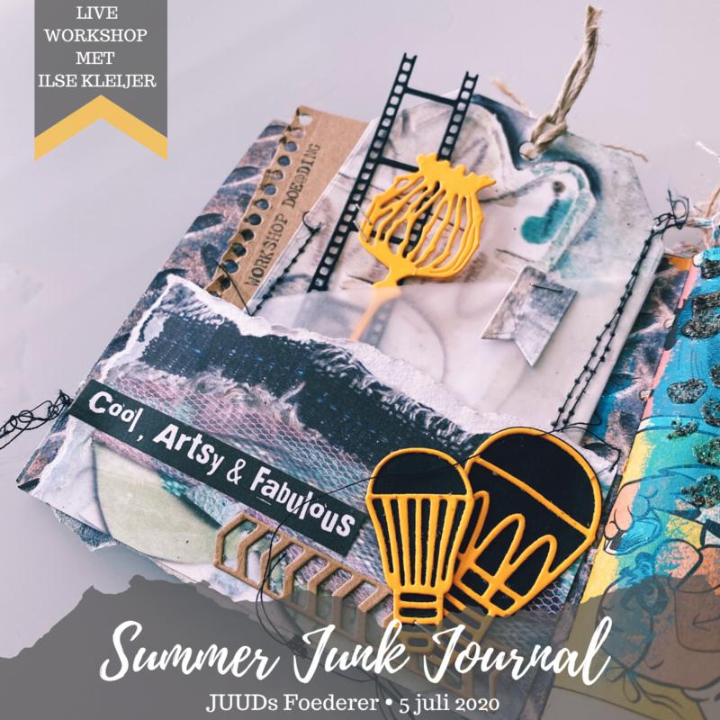 Summer Junk Journal bij JUUDs Foederer