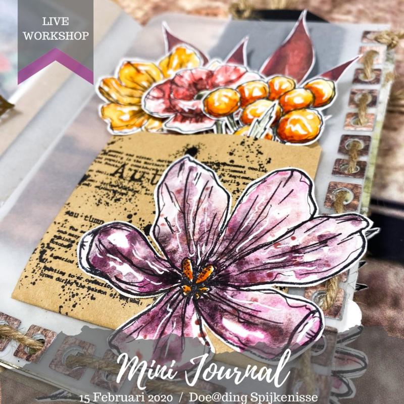 Mini Journal maken bij Doe@ding (VOL)