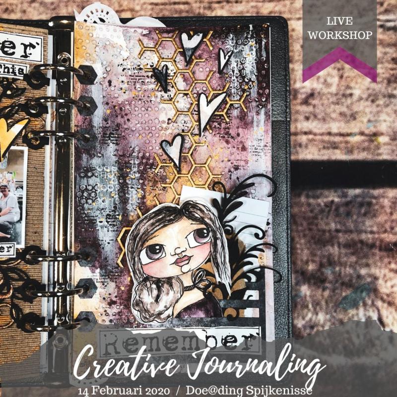 Creative Journaling bij Doe@ding (VOL)