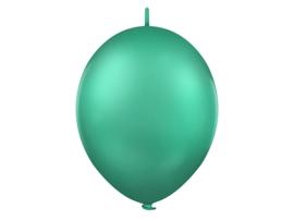 Doorknoopballonnen Groen
