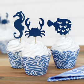 Cupcake Toppers Ahoy