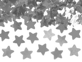 Confetti Kanon Zilveren Ster