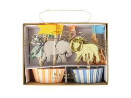 Cupcake Set -  Safari