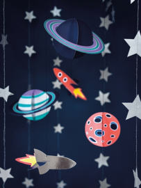 Space Party Hangdecoraties