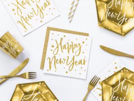 Servetten Happy New Year