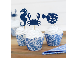 Cupcake Wrappers - Ahoy