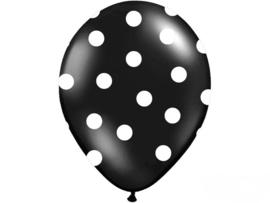 Ballonnen Zwart Dots