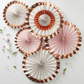 Papieren Waaiers Disty Floral