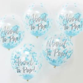 Confetti Ballonnen About To Pop