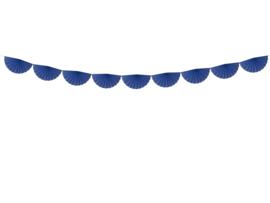 Slinger rozetten blauw