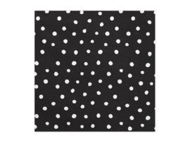 Servetten Zwart Dots