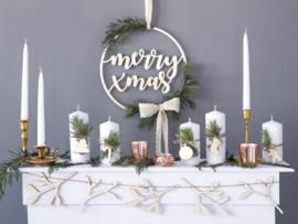 Houten Hanger Merry Xmas