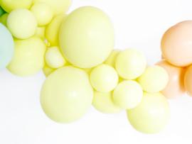 Ballonnen Pastel Geel