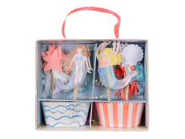 Cupcake Set - Mermaids