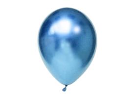 Chroom Ballonnen Blauw