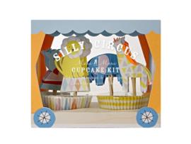 Cupcake Set - Silly Circus