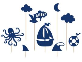 Cake Topper -  Ahoy