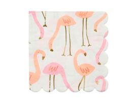 Servetten Flamingo's