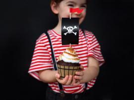 Cupcake set - Pirates