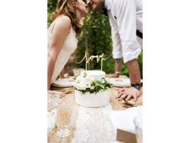Cake Topper - Love Goud
