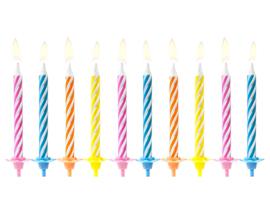 Verjaardagskaarsjes mix