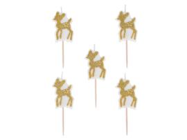 Kaarsjes Golden Deer