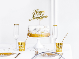Cake Topper - Happy New Year